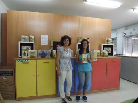 Mª Nicol con Isabel Durán